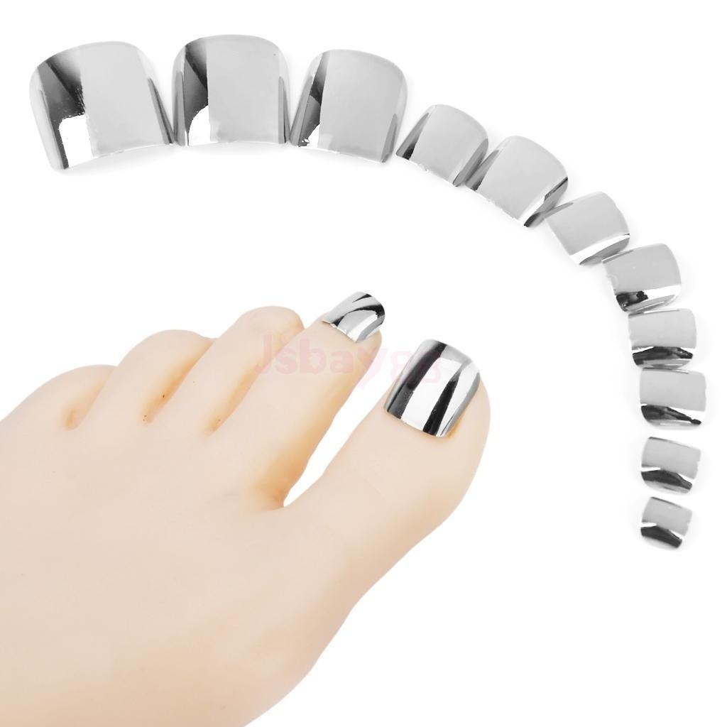 Amazon.com : 15 Style 180pcs Pre Design False Nail Toe Tips + 1pcs ...