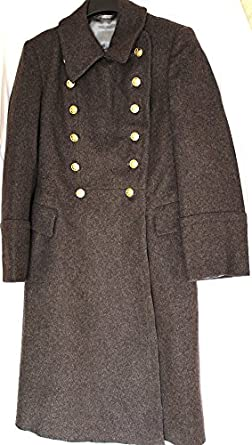 Soviet USSR Russian Military Army Officer Wool Overcoat - Shinel ...