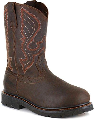 Cody James Men's Western Work Boot Composite Toe Brown 8.5 D