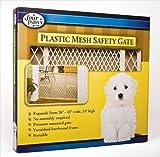 Four Paws 456384 Wood W-Plast Pressure Gate 24H