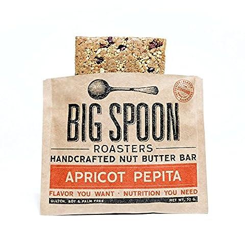 Big Spoon Roasters - Apricot Pepita Nut Butter Bar - 12 pack - Bar Apricot
