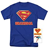 Best Grandma Men - Superman Super Grandma DC Comics T Shirt Review