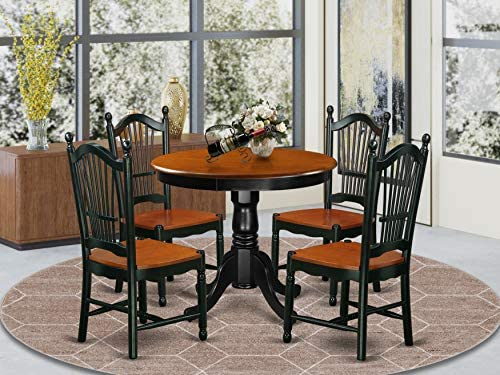 East West Furniture Dining Table Set