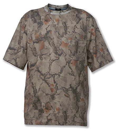 (Natural Gear Short Sleeve Camo T-Shirt, Tagless and Preshrunk Lightweight Shirt for Women and Men (XX-Large))