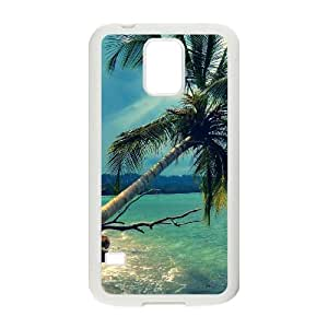 Samsung Galaxy S5 Case Image Of Palm Tree YGRDZ26038 Durable Plastic Cell Phone Cases Cover
