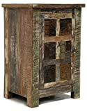 Reed Reclaimed Print Block 1 Door Nightstand