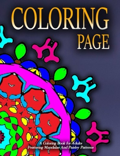 COLORING PAGE - Vol.1: Adult Coloring Pages (Volume 1)