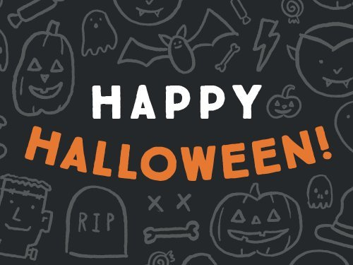 Happy halloween egift card link image