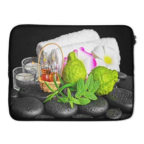 Aromatic Spa Set Bergamot Fruits Fresh Laptop Ipad Sleeve Case Bag 17