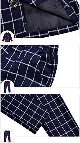 Elegante Dei Laozana Vestito 2 Blazer Militare Pezzi Cerimonia Pantaloni Marina Ragazzi Completino Del Completo Formali 77xrnRUH