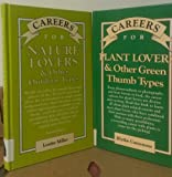 img - for 2 Volumes of VGM Career Books: Careers for Plant Lovers and Other Green Thumb Types & Careers for Nature Lovers and Other Outdoor Types book / textbook / text book