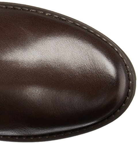 Clarks Fernwood lago de la motocicleta de arranque Dark Brown Leather