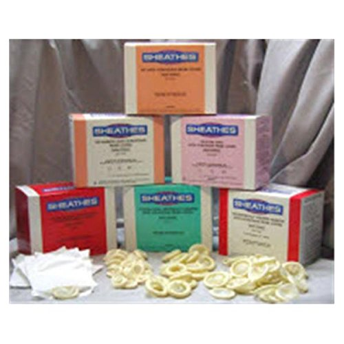 WP000-10001 10001 10001 Cover Probe Sheath 1.25x8'' Bulk Pack Ultrasound Latex 100/Bx Medical Resources