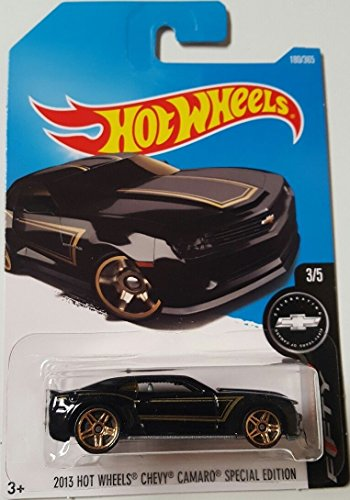 Discount Hot Wheels 2017 Camaro Fifty 2013 Chevy Camaro Special Edition 180/365, Black supplier