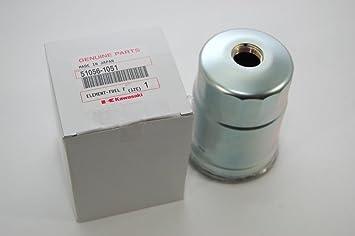 Kawasaki OEM Mule 3010 4010 2510 sel Fuel Filter 51056-1051 on