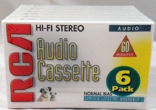 RCA Hi-fi Stereo 60 Minute Audio Cassettes
