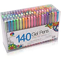 Smart Color Art 140 Colors Gel Pens Set Gel Pen For Adult...