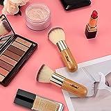 Matto Bamboo Makeup Brush Set Face Kabuki 2 Pieces