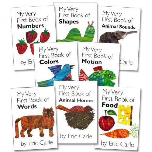 Amazon.com: My Very First Board Book Set (Set of 8): Toys & Games