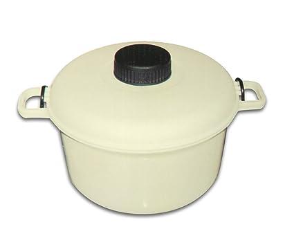 Globatek - Olla a presión para microondas (para cocinar arroz, verduras y pescado)