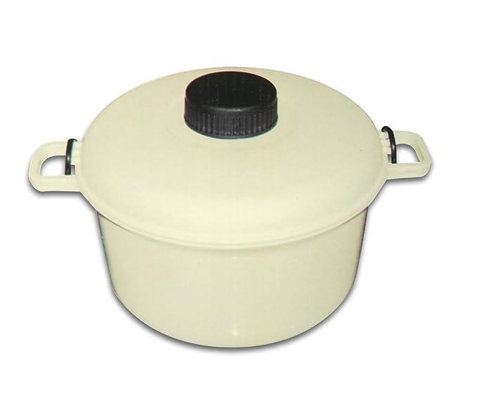 Globatek - Olla a presión para microondas (para cocinar arroz ...