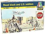 Model Kit - Road Block et soldats américains - 01:35 Scale - Italeri