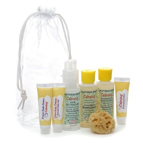 California Baby The Basics Tote 1 kit