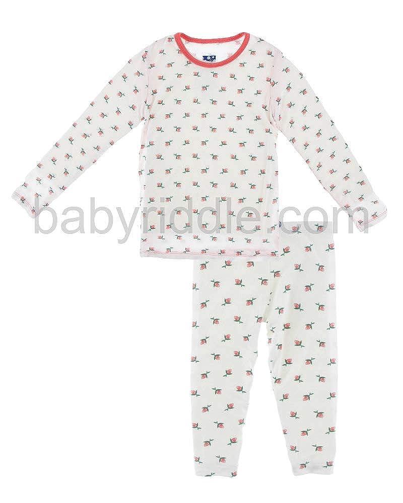 Natural pink Bud KicKee Pants Baby Boys' Print Short Sleeve Pajama Set Prdkppj108s16d2pcma