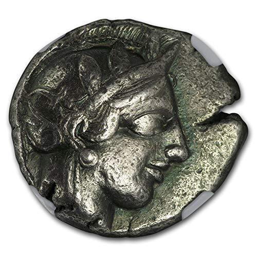 440 GR Athens Ag Tetradrachm Owl (440-404 BC) Ch VF NGC (Parliament Col) (1/4) Very Fine NGC