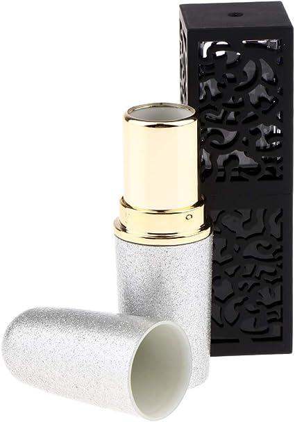 2 Piezas Tubo Modelo de Brillos Labiales Estuche de Fabricante de Perfume Sólido/Pintalabios/Lápiz Labial: Amazon.es: Belleza