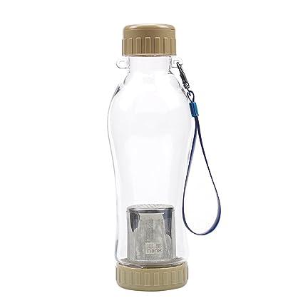 Infuser la botella de agua para el té de las hojas intercambiables y café y fruta