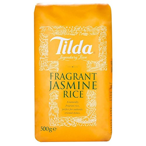 Tilda Fragrant Jasmine Rice (500g) - Pack of 6 by Tilda