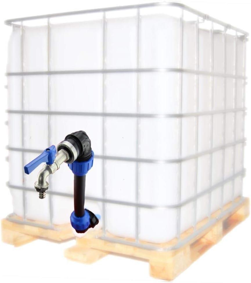"""IBC Adapter IBC Zubehör 3//4/"""" 1/"""" 2/"""" Regenwassertank IBC Container versch Größen!"""