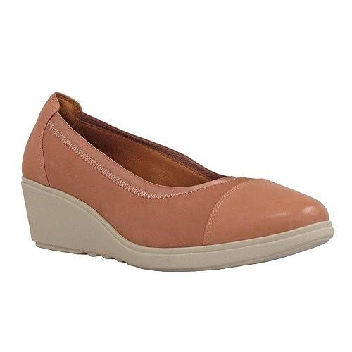 bceb8915cd6ca Clarks Womens Wedge Un Tallara Liz Rose 5.0 D: Amazon.co.uk: Shoes ...