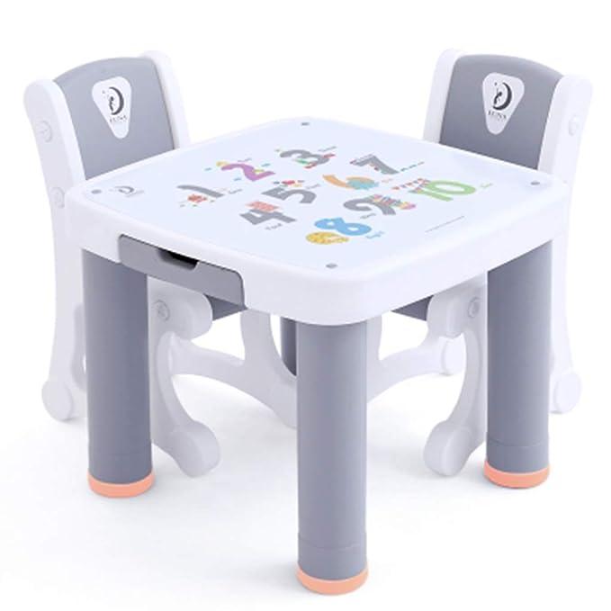 Juegos de mesas y sillas Mesa para Niños Mesa Plegable para ...