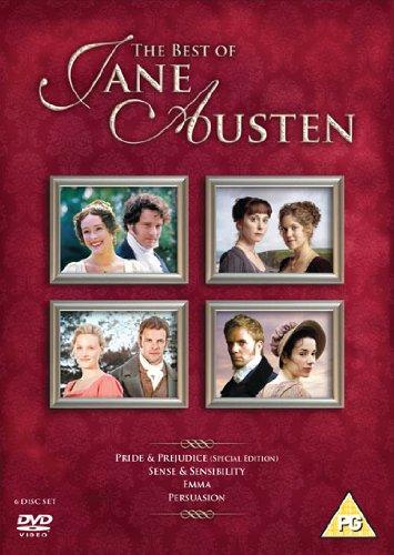 The Best of Jane Austen [Pride & Prejudice / Sense & Sensibility / Emma / Persuasion] [DVD] [2007] (The Best Of Jane Austen)