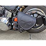 Orletanos-Diablo-Skull-Compatible-with-Swing-Bag-Saddle-Bag-Harley-Davidson-Softail-Fatboy-Heritage-Star-Frame-Fat-Bob-2018-Motorcycle-Bag
