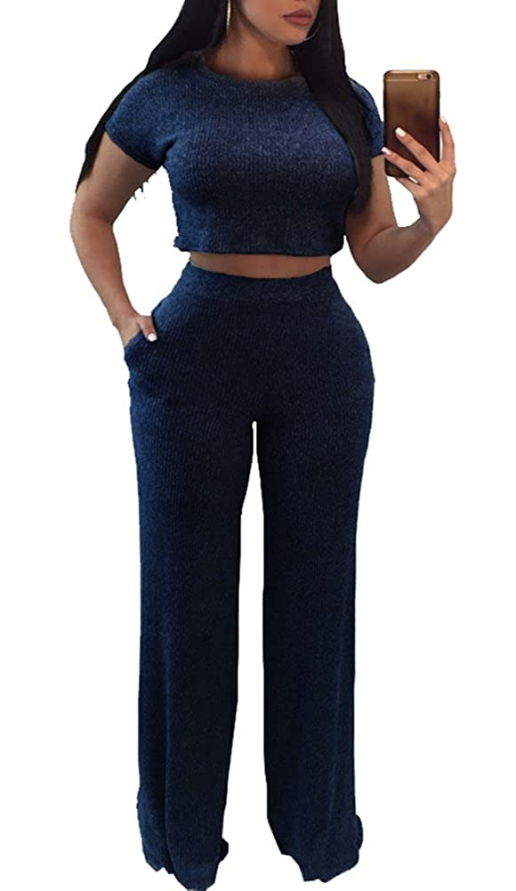 ac3e74fbaaba1 Top 10 wholesale Crop Top And Pants Outfit - Chinabrands.com