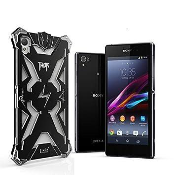 Sony Xperia Z3 Carcasa antiarañazos aluminio protección ...