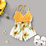Summer Toddler Baby Girl Clothes Cute Fruit/Flower