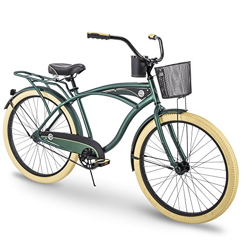 (Huffy Cruiser Bike Mens, Holbrook 26 inch, Charcoal & Green)