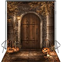OUYIDA 6X9FT Halloween Pumpkins Pictorial cloth Seamless Customized photography Backdrop Background studio prop TP76
