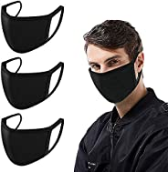 Mouth Masks, Ruphance Unisex Adult Cotton Blend Ear Loop Face Mask, Anti Dust Warm Ski Cycling Safety K-pop Fa