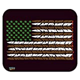 weed mouse pad - Marijuana Weed USA Flag American Joint Low Profile Thin Mouse Pad Mousepad