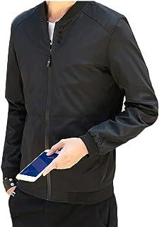 omniscient Mens Lightweight Bomber Jacket Casual Softshell Full Zip Coats