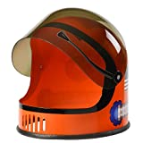Aeromax Youth Astronaut Helmet with Movable Visor, Orange
