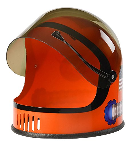 Aeromax Youth Astronaut Helmet with Movable Visor, Orange (Costume Youth)