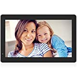 Nixplay W13B Seed 13.3″ Wi-Fi Cloud Digital Photo Frame with IPS Display, iPhone & Android App, iOS Video Playback, Free 10GB Online Storage, Alexa Integration and Hu-Motion Sensor, Black