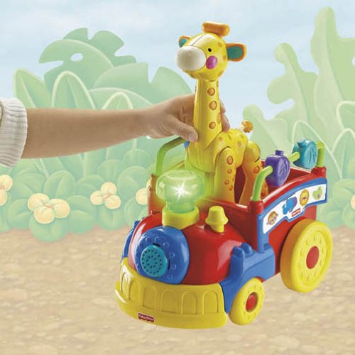 Fisher-Price Amazing Animals Sing and Go Choo-Choo by Fisher-Price (Image #7)