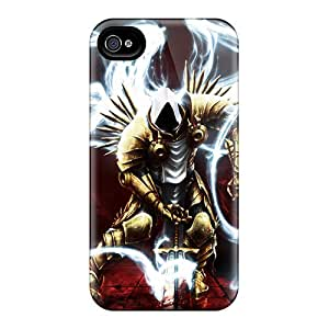 Brand New 4/4s Defender Case For Iphone (archangel Tyrael)